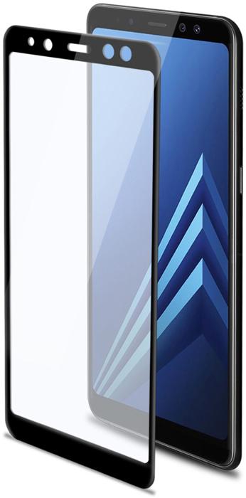 Celly 3D Glass защитное стекло 3D для Samsung Galaxy A8, Black celly ghost black держатель автомобильный для смартфона