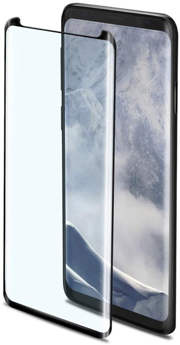 Celly 3D Glass защитное стекло 3D для Samsung Galaxy S9, Black celly ghost black держатель автомобильный для смартфона