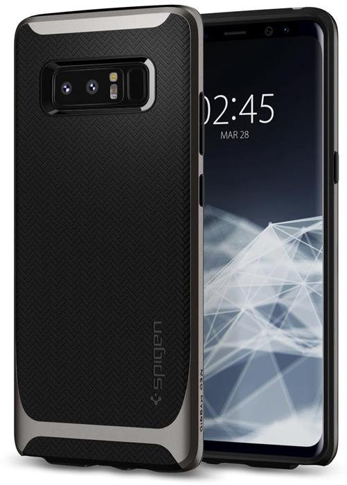 Spigen Neo Hybrid чехол для Samsung Galaxy Note 8, Black dark blue spigen sgp neo hybrid pc