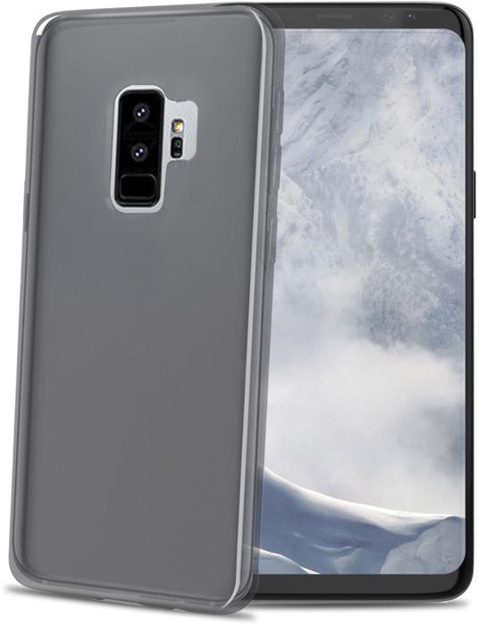 Celly Gelskin чехол для Samsung Galaxy S9+ , Black celly ghost black держатель автомобильный для смартфона