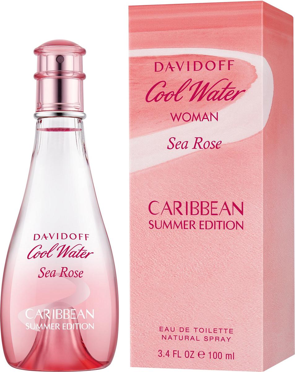 Davidoff Cool Water Sea Rose Туалетная вода 100 мл (лимитированный выпуск) туалетная вода для мужчин davidoff cool water men 75 мл