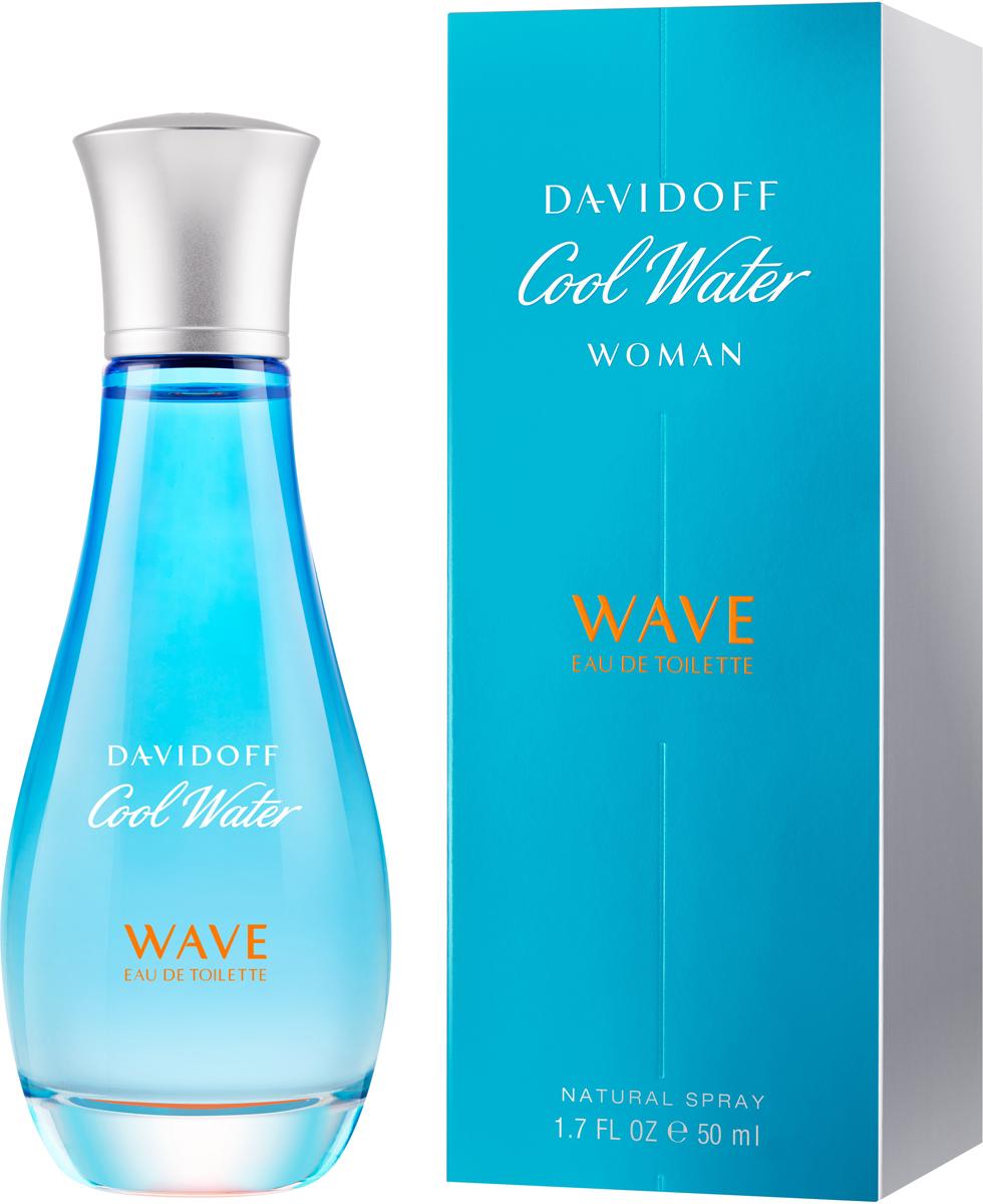 Davidoff Cool Water Woman Wave Туалетная вода 50 мл туалетная вода davidoff cool davidoff туалетная вода davidoff cool