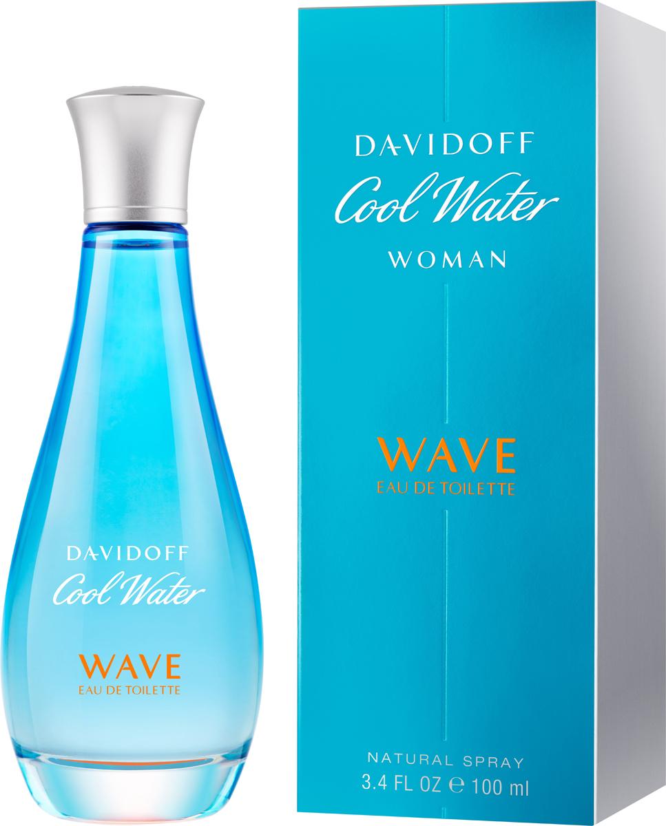 Davidoff Cool Water Woman Wave Туалетная вода 100 мл туалетная вода davidoff cool davidoff туалетная вода davidoff cool