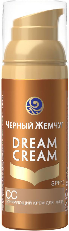 купить Черный Жемчуг Dream Cream CC крем-вуаль для лица Естественное сияние, 25 мл по цене 313 рублей