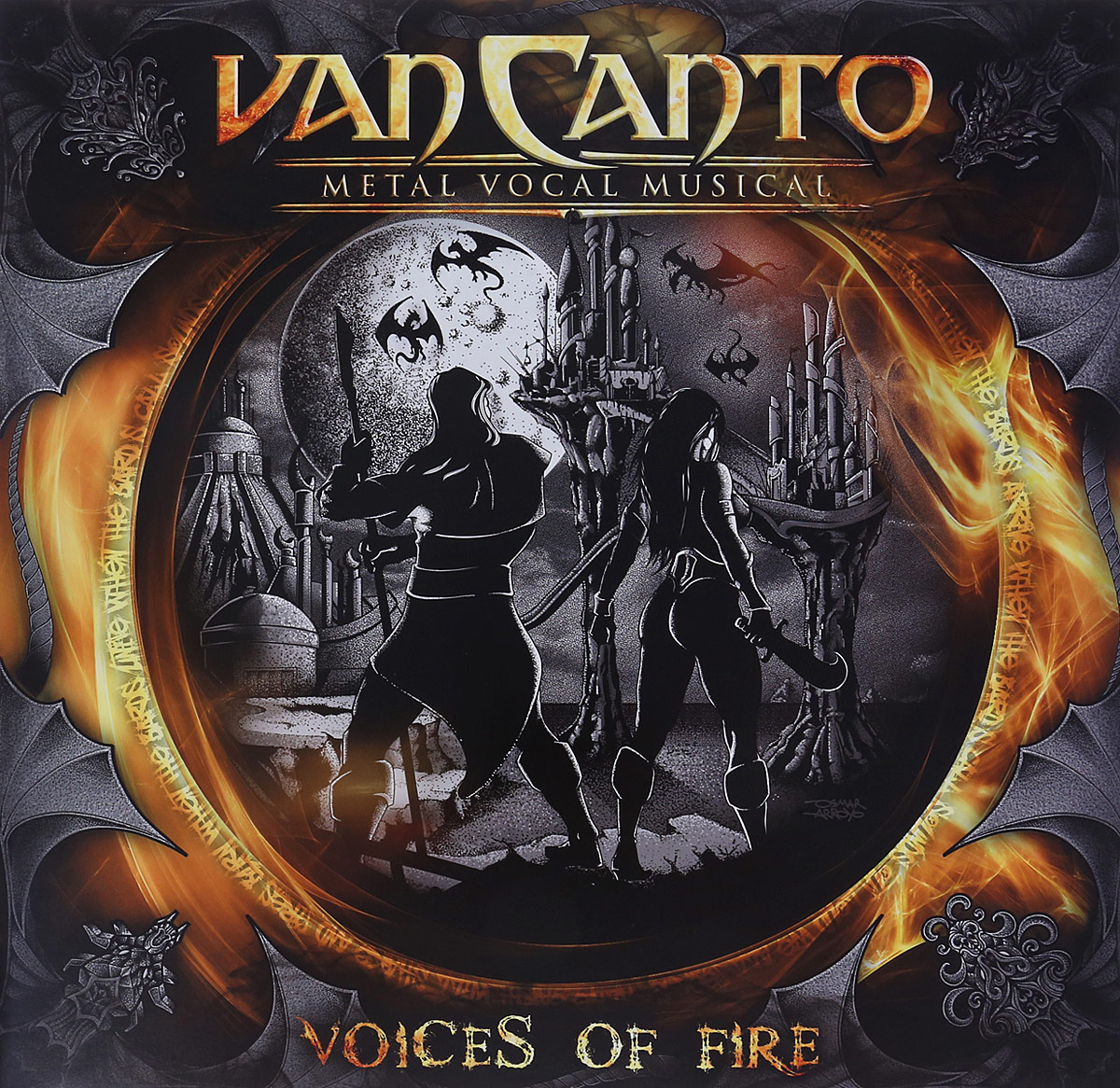 Van Canto Van Canto. Vocal Music. Voices Of Fire (LP)