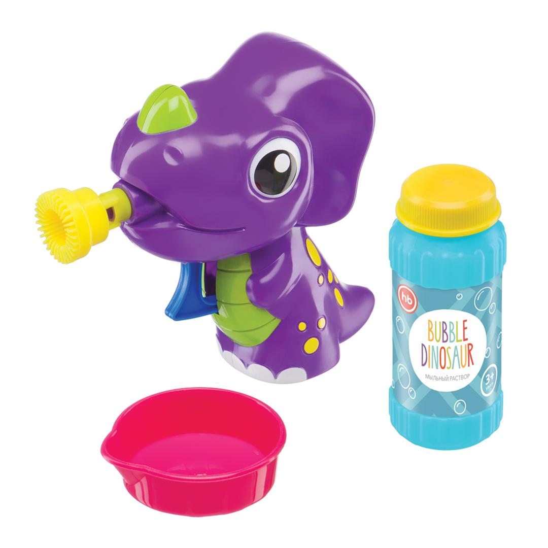 Happy Baby Набор для пускания мыльных пузырей Bubble Dinosaur hti машина для пускания мыльных пузырей double bubble hti