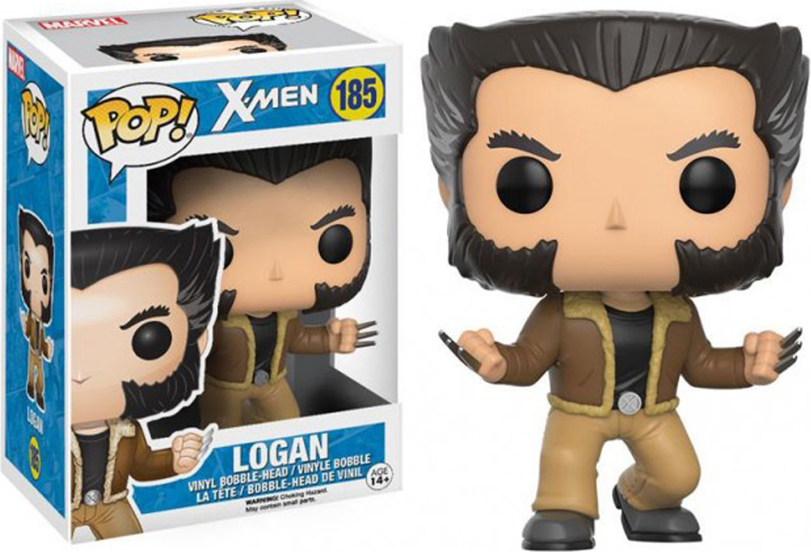 Funko POP! Bobble Фигурка Marvel: X-Men: Logan 12458 фигурка marvel black panther funko pop black panther warrior falls bobble head 9 5 см