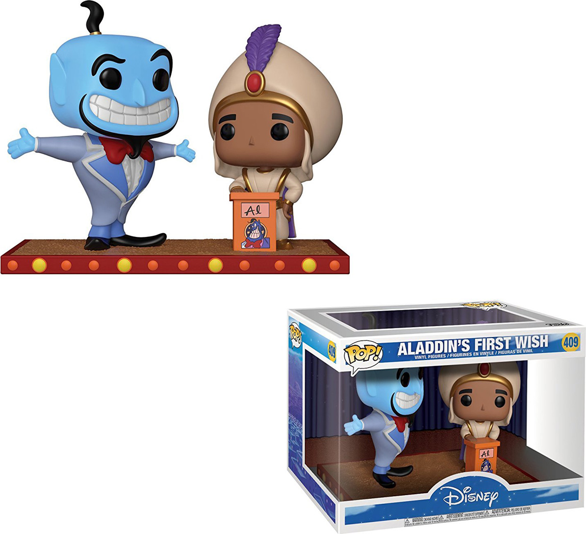 Funko POP! Vinyl Фигурка Movie Moment: Aladdin Genie 29375 hollywood cinema film movie black filming background vinyl cloth high quality computer printed wall backdrop