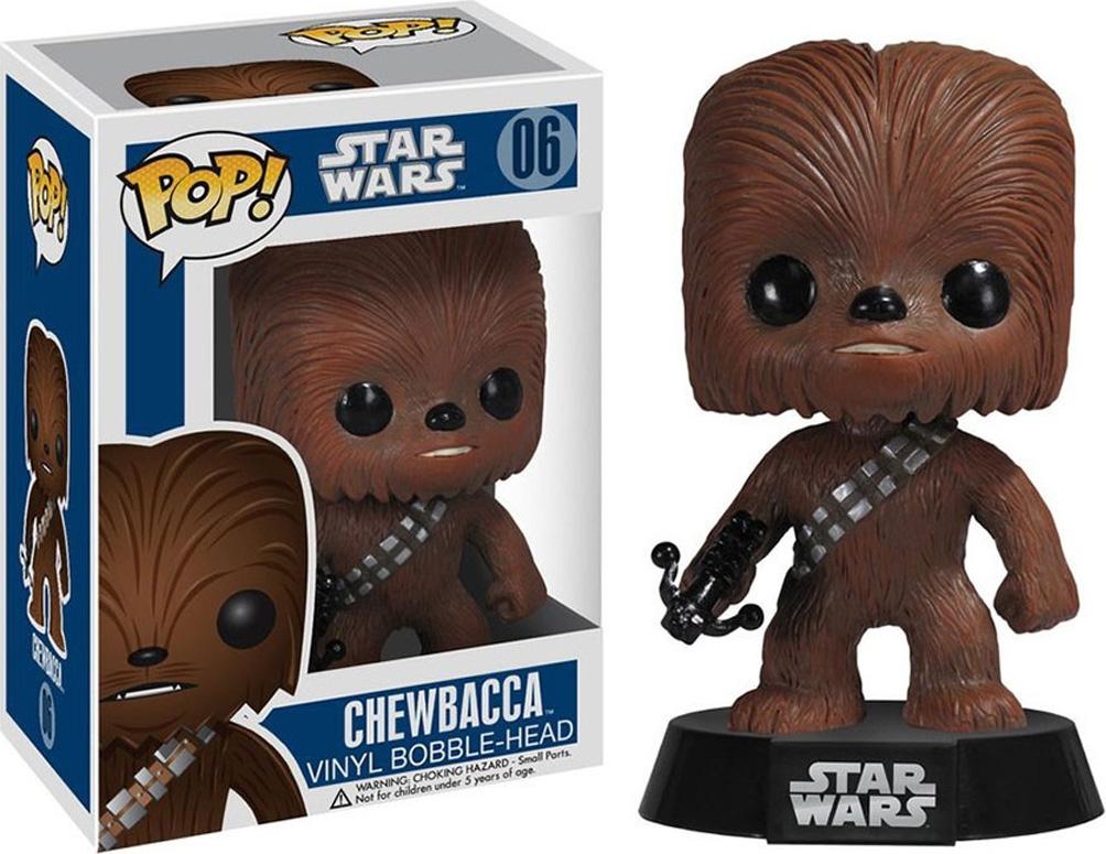 Funko POP! Bobble Фигурка Star Wars: Chewbacca 2324 фигурка funko pop bobble marvel black panther nakia