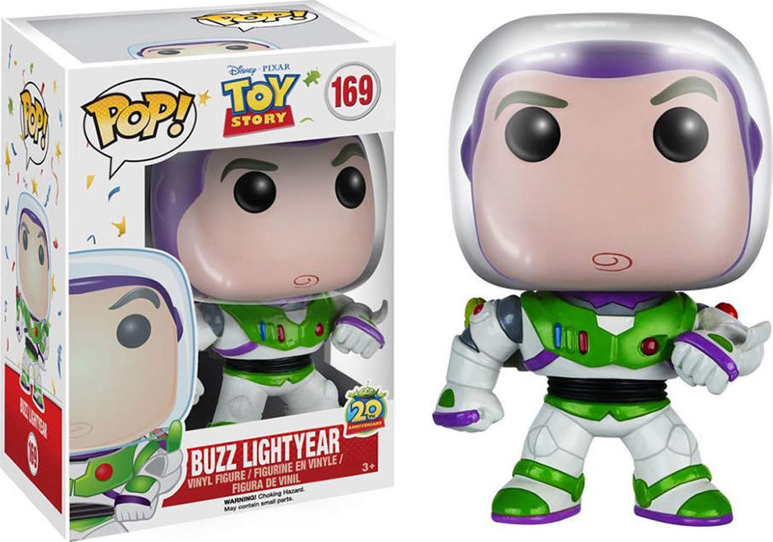 Funko POP! Vinyl Фигурка Disney: Toy Story: Buzz (new pose) 6876 фигурки игрушки disney frozen фигурка игрушка