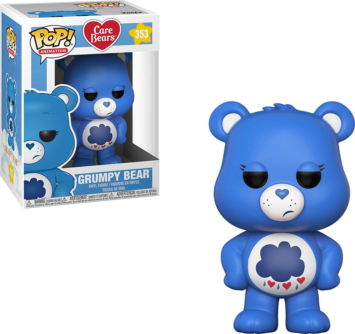 Funko POP! Vinyl Фигурка Care Bears: Grumpy Bear 26713 товары для праздника care bears набор свечей заботливые мишки