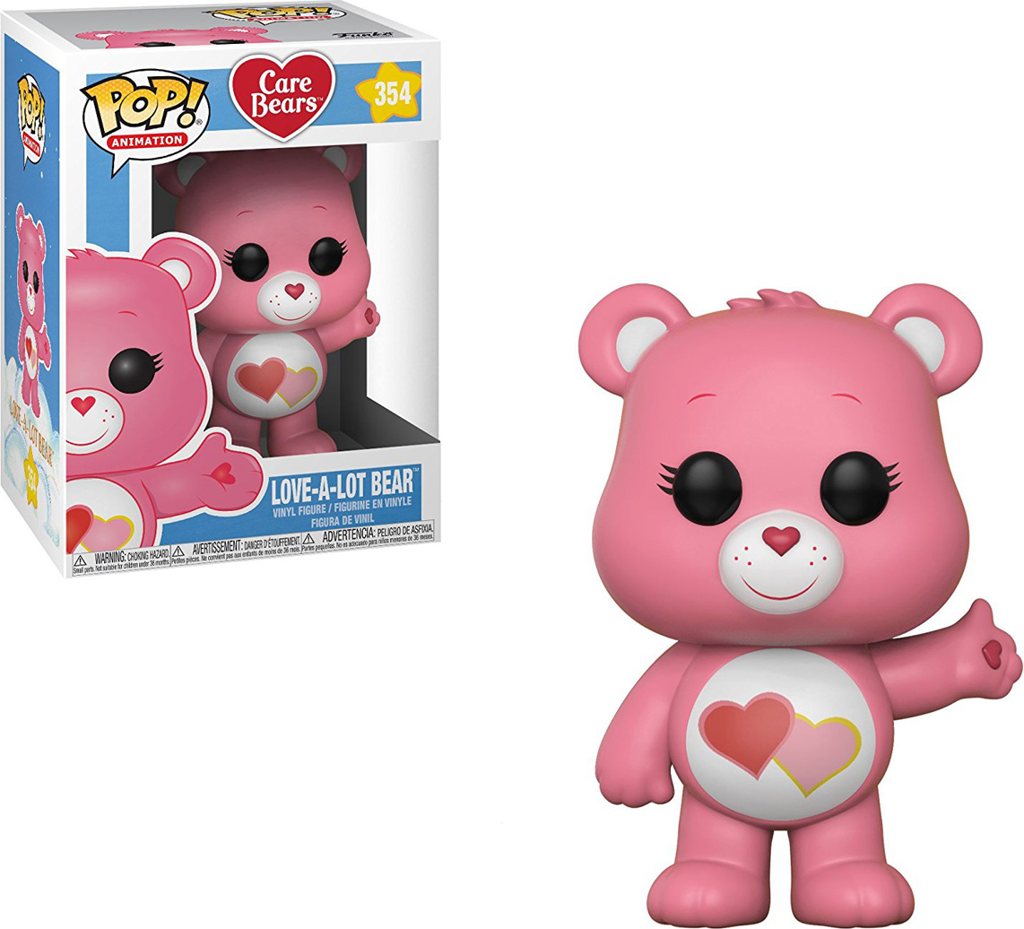 Funko POP! Vinyl Фигурка Care Bears: Love-A-Lot Bear 26717 10pcs lot fds9958
