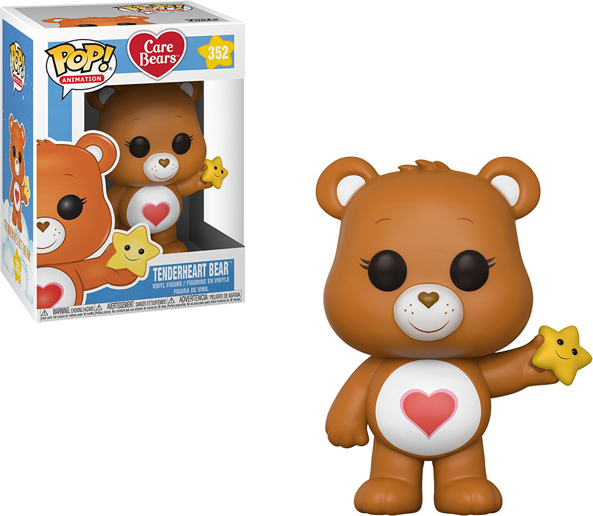 Funko POP! Vinyl Фигурка Care Bears: Tenderheart Bear 26700 цена 2017