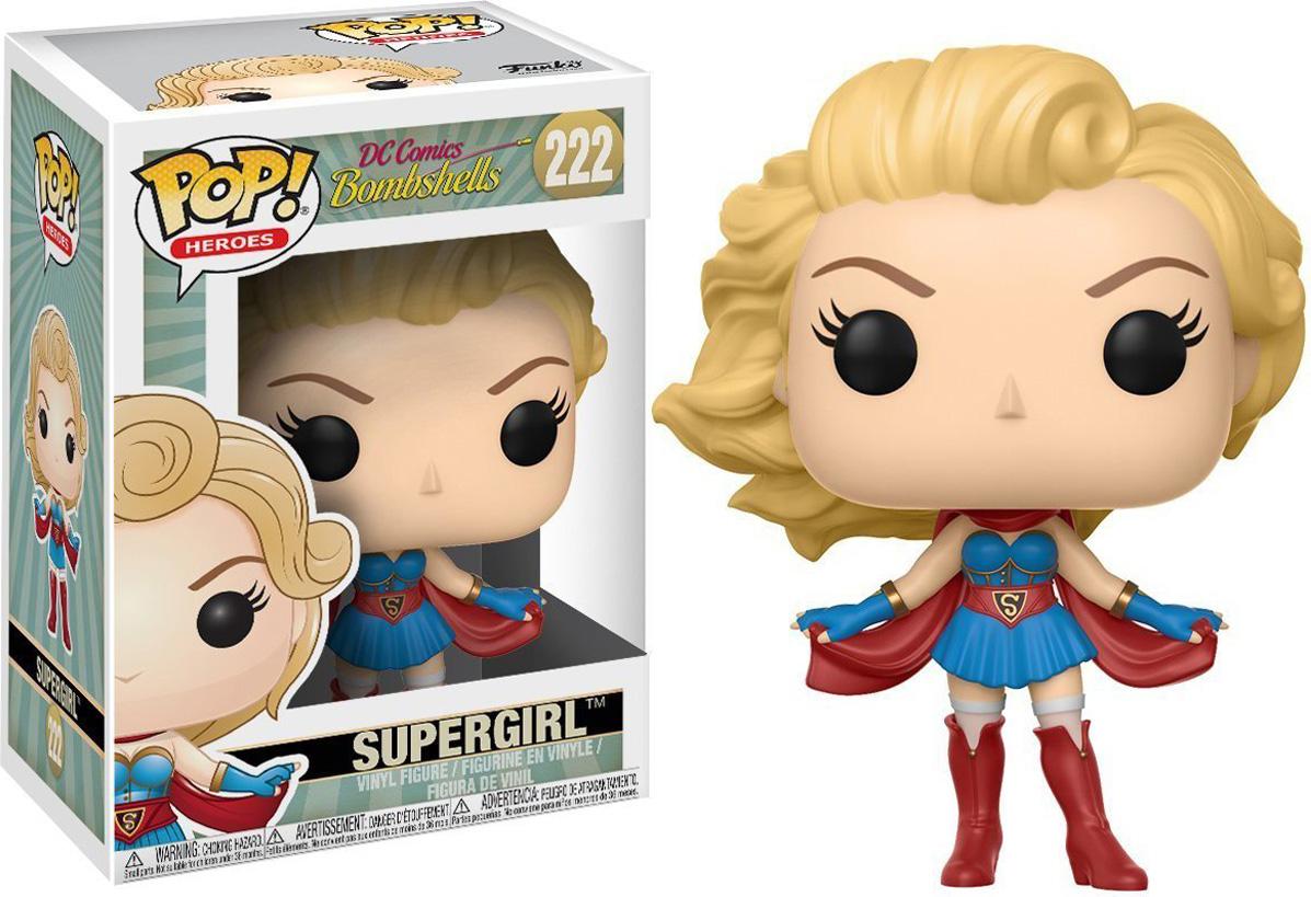 Funko POP! Vinyl Фигурка DC: DC Bombshells Supergirl 22894