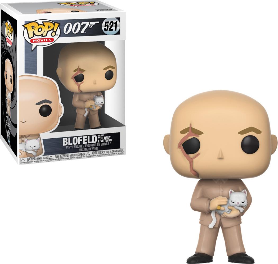 Funko POP! Vinyl Фигурка James Bond: Blofeld 24705 фигурка funko pop movies kingsman the secret service – gazelle 9 5 см