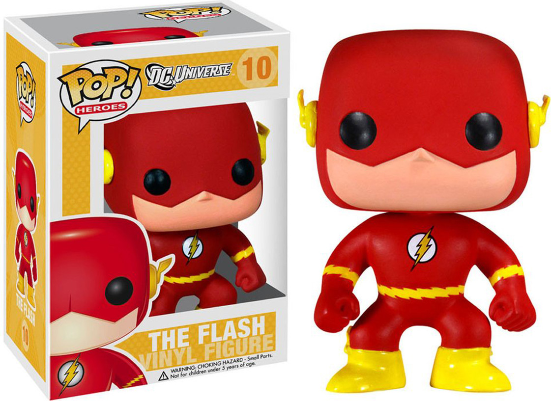 Funko POP! Vinyl Фигурка DC: The Flash 2248 фигурка funko pop vinyl dc batman animated btas poison ivy 11575