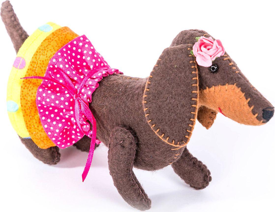 """Набор для изготовления текстильной игрушки Перловка """"Красотка"""", 10 х 18 см"""