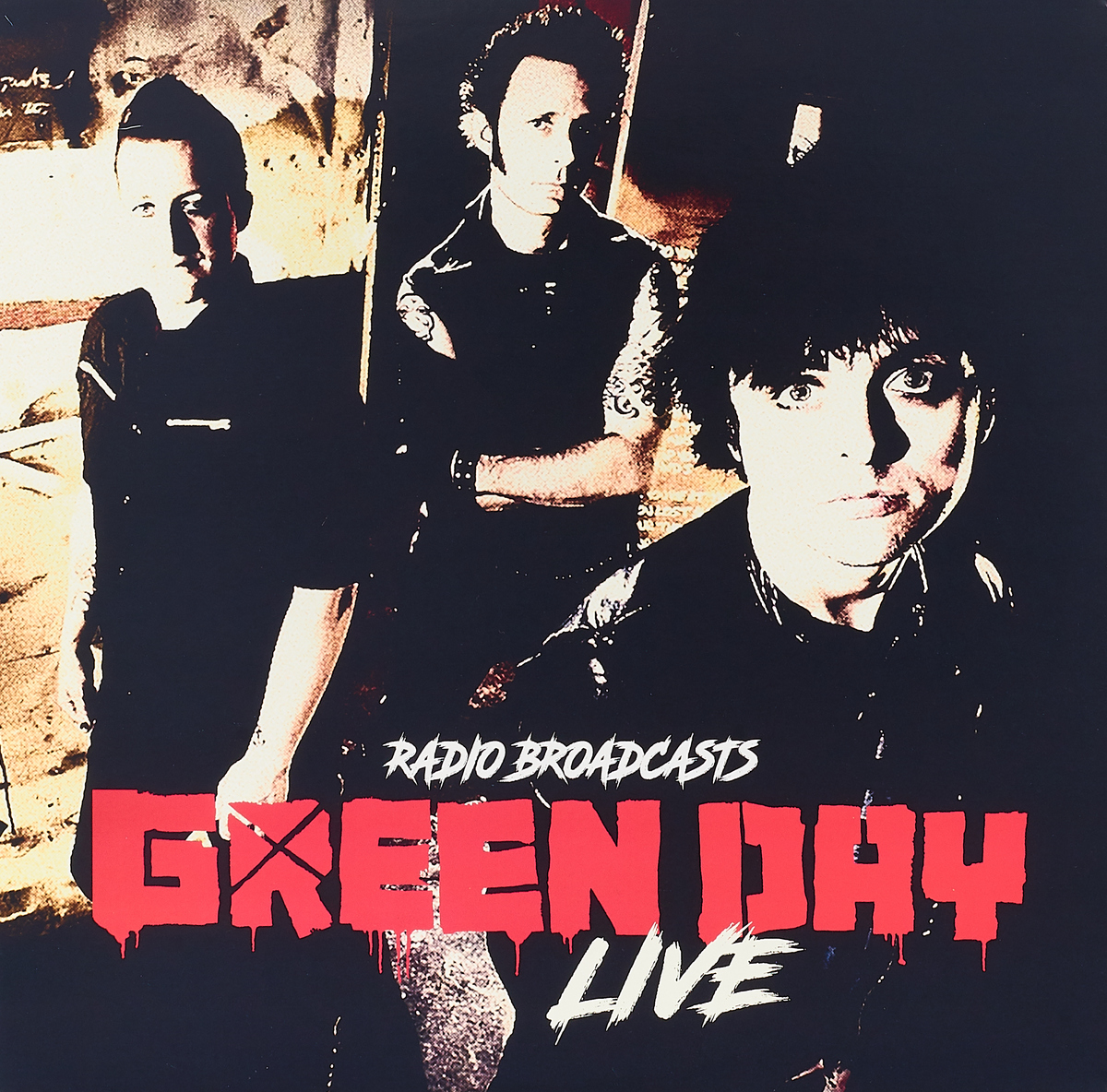 Green Day. Live Radio Broadcasts (LP)