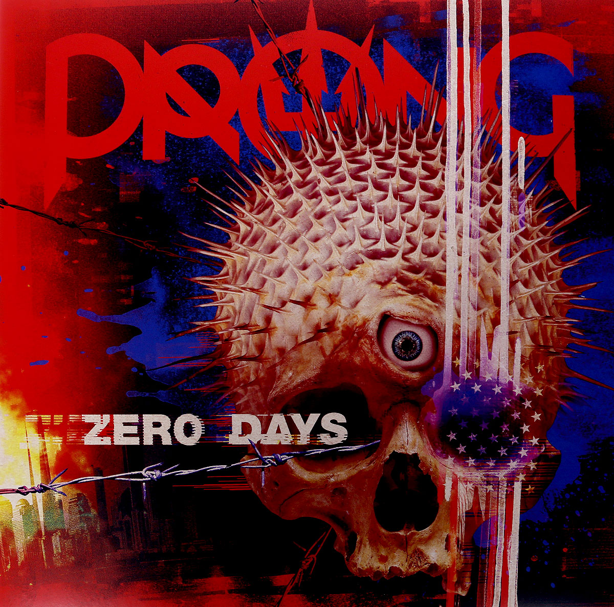Prong Prong. Zero Days (2 LP + CD) strainer ladle with prong