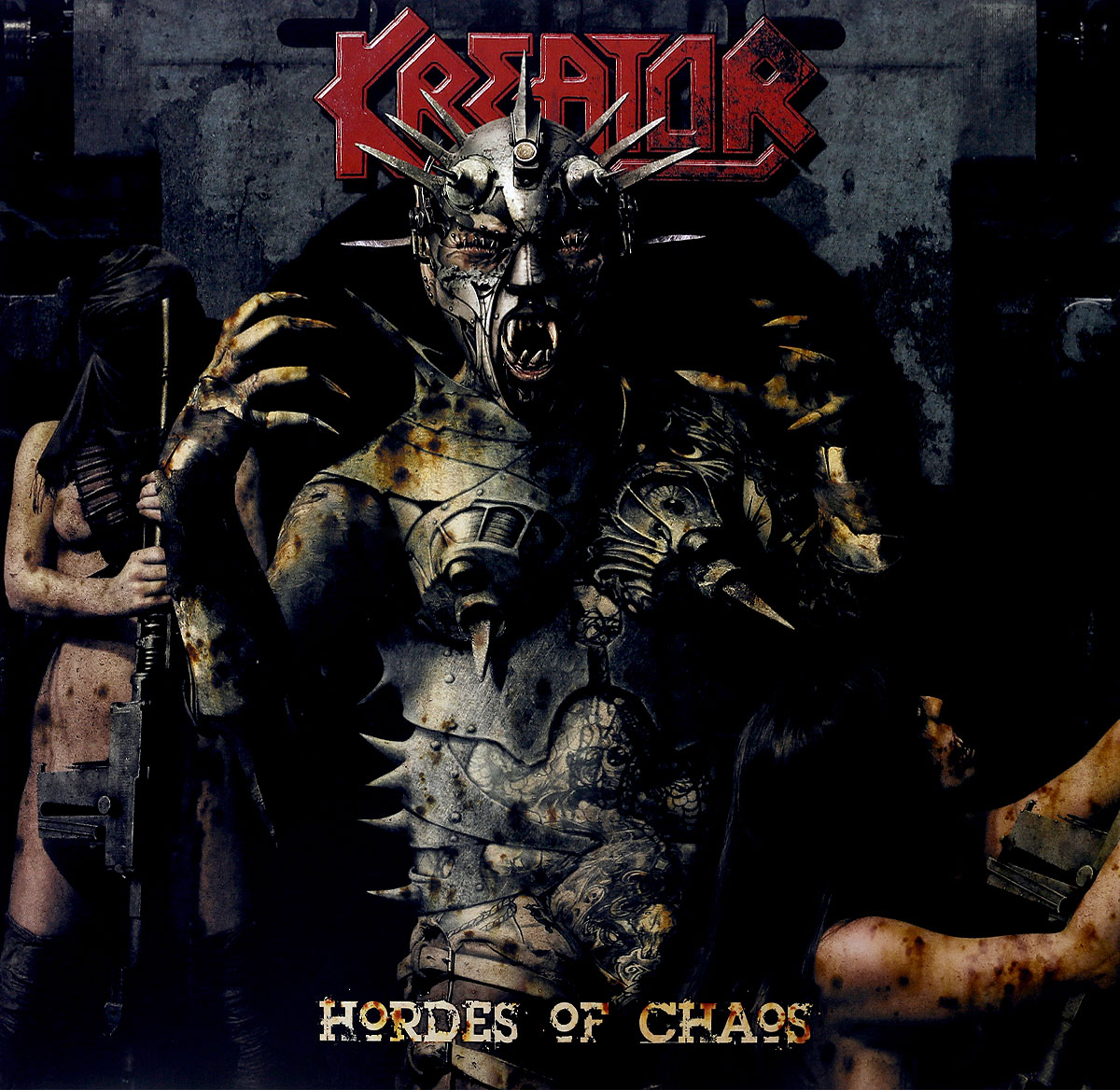 Kreator Kreator. Hordes Of Chaos. Re-Release (LP + CD) chaos панама chaos stratus sombrero