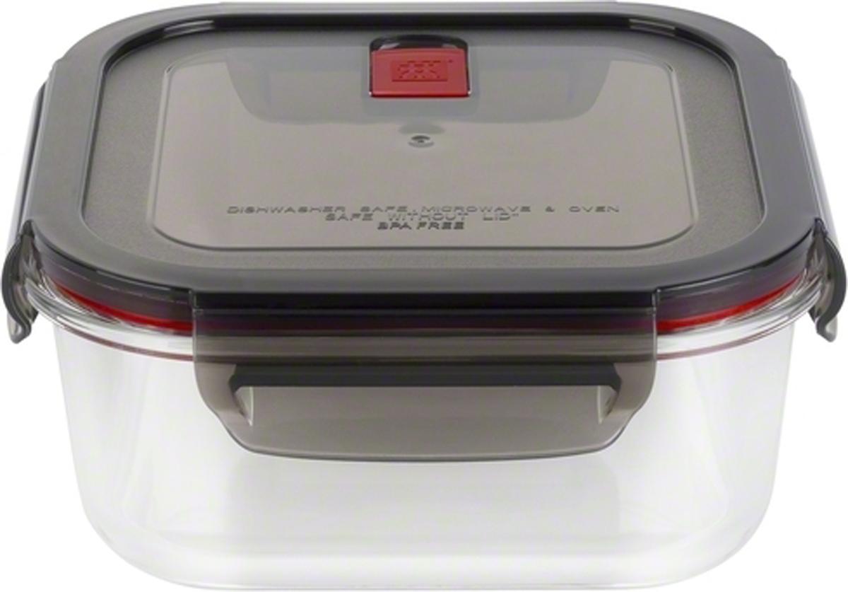 Стеклянный контейнер предназначен для хранения продуктов.Надежный, термостойкий контейнер из боросиликатного стекла.Не содержит BPA.Воздухонепроницаемая и герметичная пластиковая крышка.Использовать в микроволновке и духовом шкафу без крышки.Прозрачный стеклянный контейнер позволяет легко идентифицировать содержимое.Можно мыть в посудомоечной машине.
