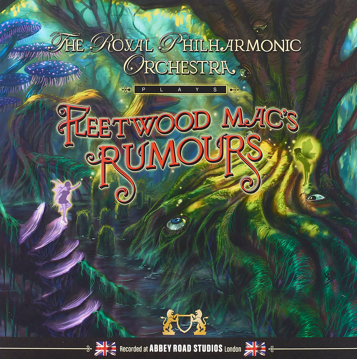 The Royal Philharmonic Orchestra The Royal Philharmonic Orchestra. Plays Fleetwood Mac's Rumours (LP) рени флеминг андреас делфс the royal philharmonic orchestra renee fleming saсred songs