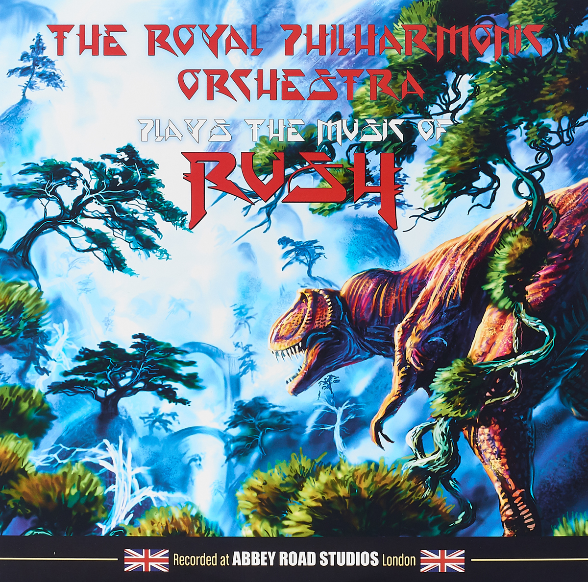 цена The Royal Philharmonic Orchestra The Royal Philharmonic Orchestra. Plays The Music Of Rush (LP)
