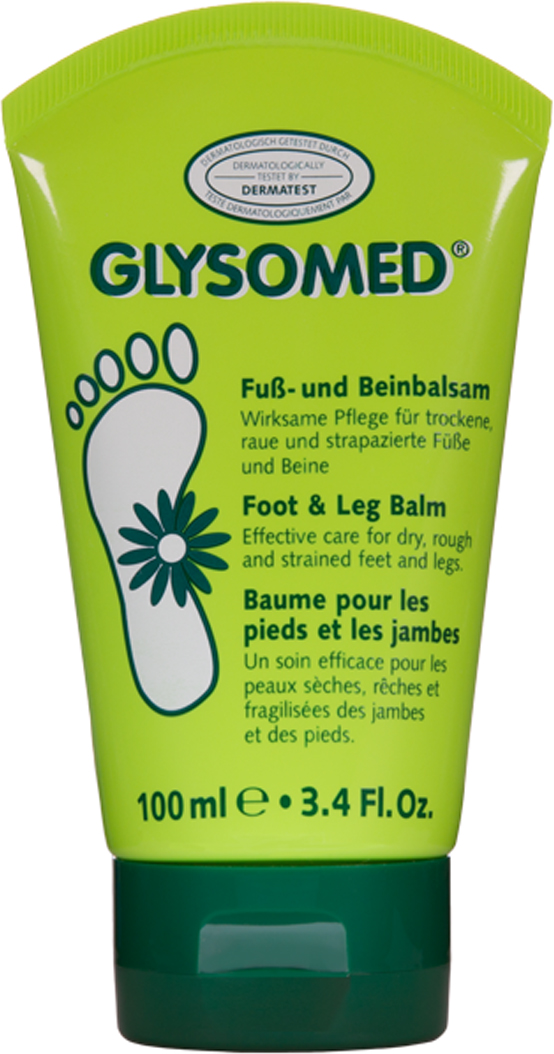 Glysomed Бальзам для ног, 100 мл borges масло оливковое 100