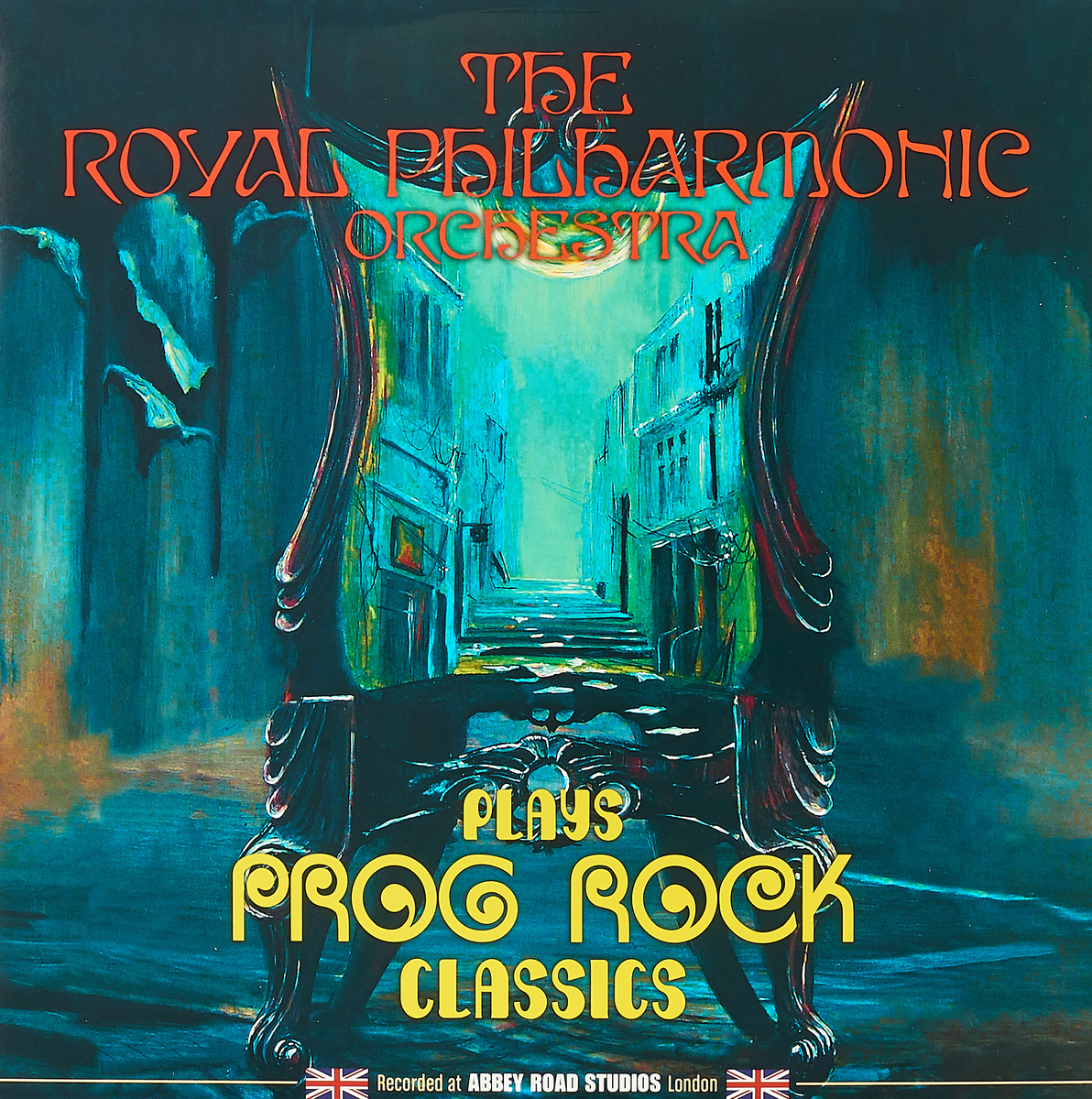 The Royal Philharmonic Orchestra The Royal Philharmonic Orchestra. Plays Prog Rock Classics (LP) рени флеминг андреас делфс the royal philharmonic orchestra renee fleming saсred songs