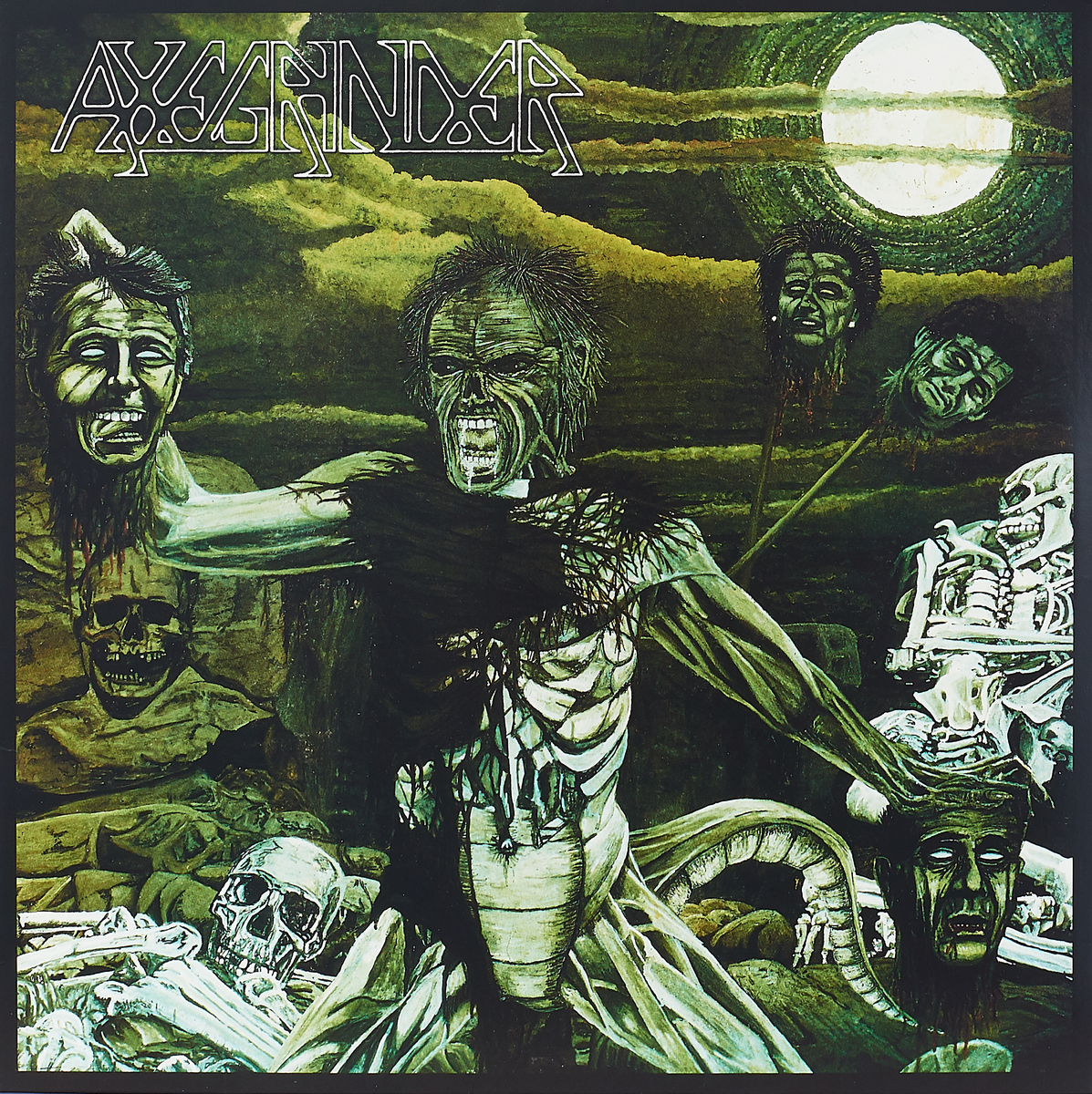 Axegrinder Axegrinder. Rise Of The Serpent Men (LP)