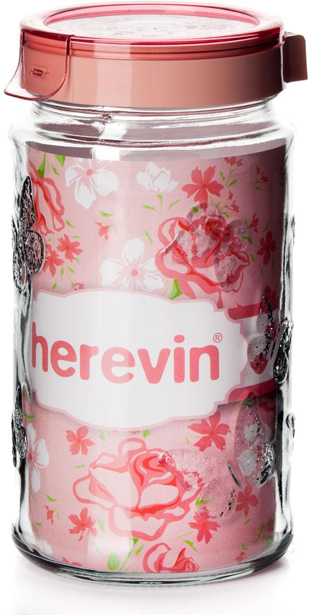 Банка для сыпучих продуктов Herevin, с крышкой, 1,7 л. 143202-500 фотообои national geographic sunday 3 68х2 48 м