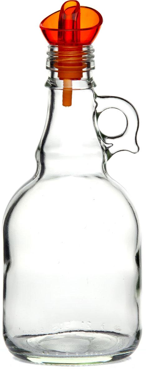 Бутыль для масла с ручкой 500 мл, 8,5*8,5*22 см