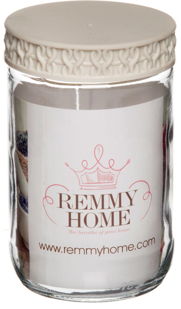 """Банка для сыпучих продуктов  """"Remmy Home"""" выполнена в дизайне, который отлично впишется в любо интерьер. Благодаря плотно закрывающейся пластиковой крышке внутри сохраняется герметичность, и продукты дольше остаются свежими. Банка предназначена для хранения различных сыпучих продуктов: круп, чая, сахара, орехов и т.д. Функциональная и вместительная, такая банка станет незаменимым аксессуаром на любой кухне."""