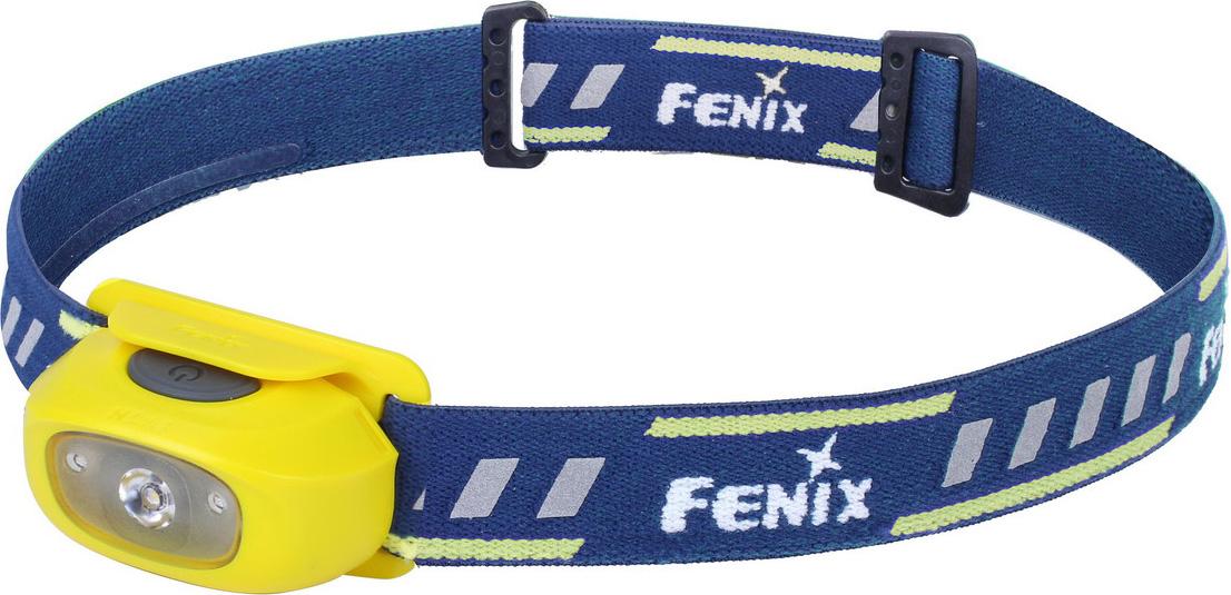 Фонарь налобный Fenix HL16, цвет: желтый