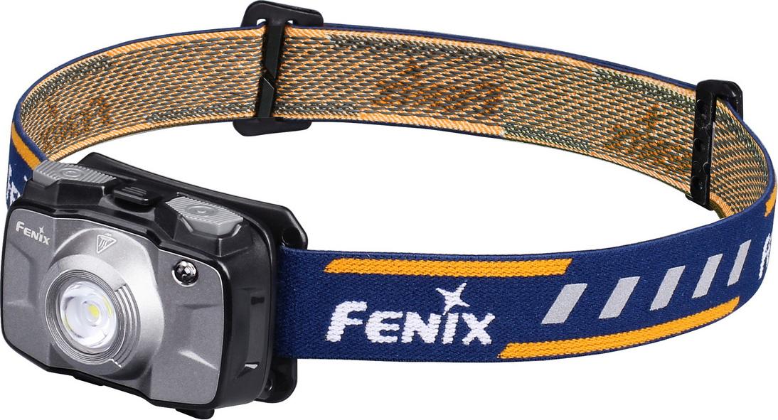 Фонарь налобный Fenix HL30 2018, цвет: серый налобный фонарь fenix hl30 2018 cree xp g3 серый