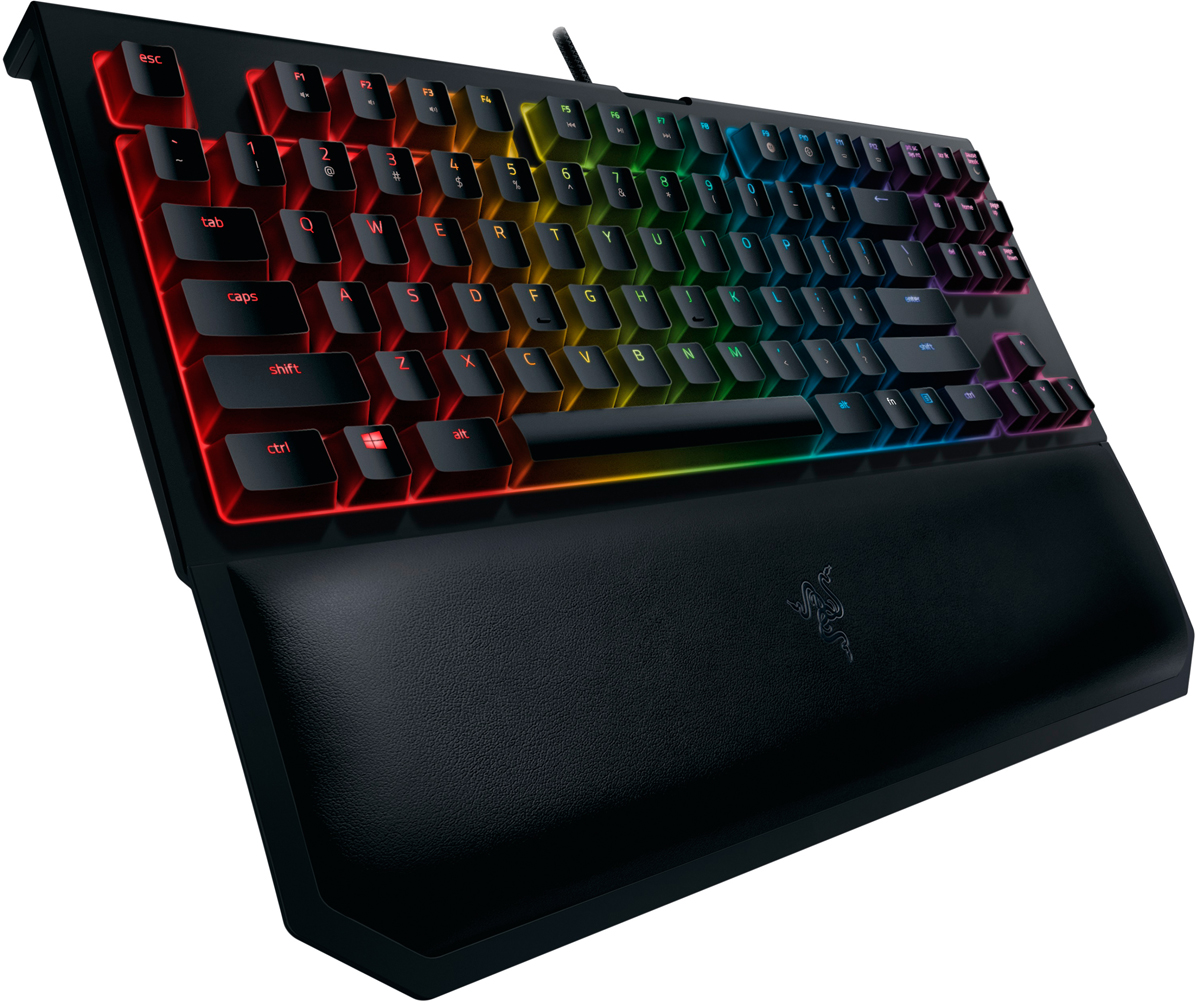 Razer BlackWidow Tournament Chroma V2 Green Switch игровая клавиатура