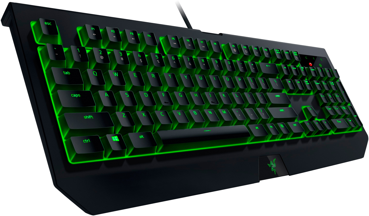 izmeritelplus.ru: Razer BlackWidow Ultimate 2017 Green Switch игровая клавиатура