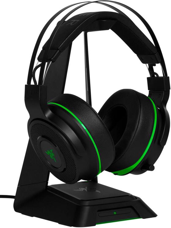 Razer Thresher Ultimate for Xbox One, Black беспроводная гарнитура наушники c микрофоном razer thresher ultimate for playstation 4