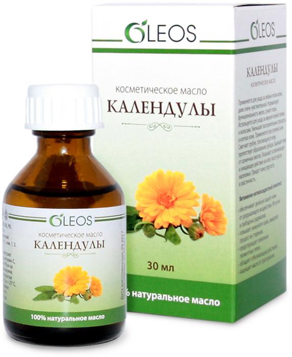 Косметическое масло Календулы Oleos, 30 мл ООО