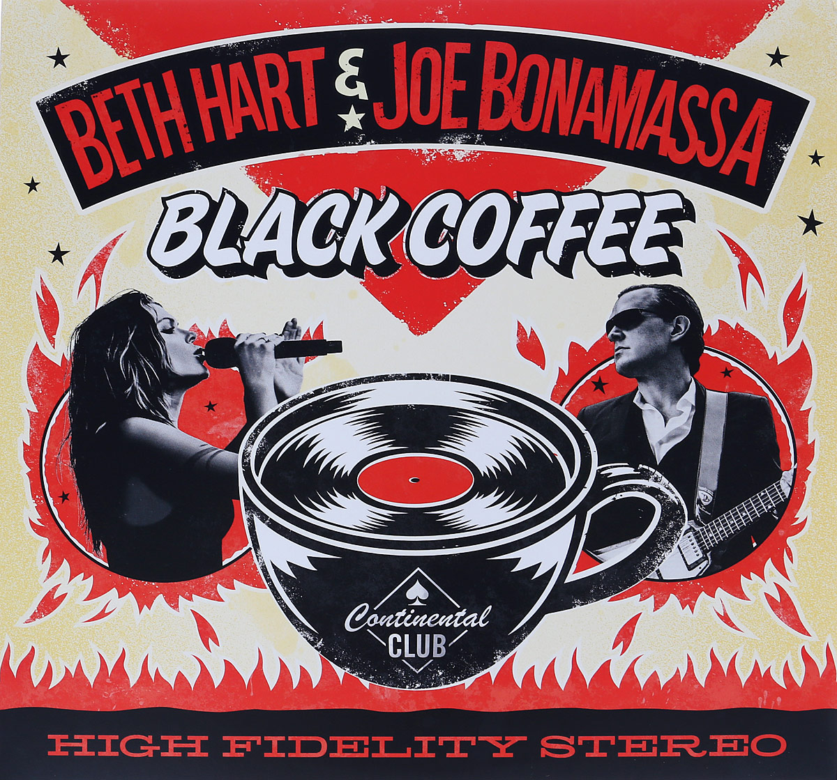 Бет Хат,Джо Бонамасса Beth Hart & Joe Bonamassa. Black Coffee (2 LP)