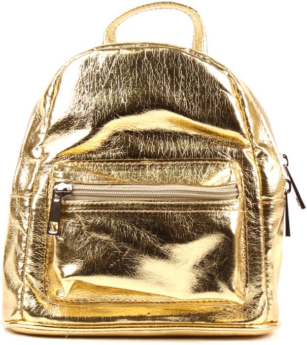 Рюкзак женский Медведково, цвет: золотой. 18с3088-к14