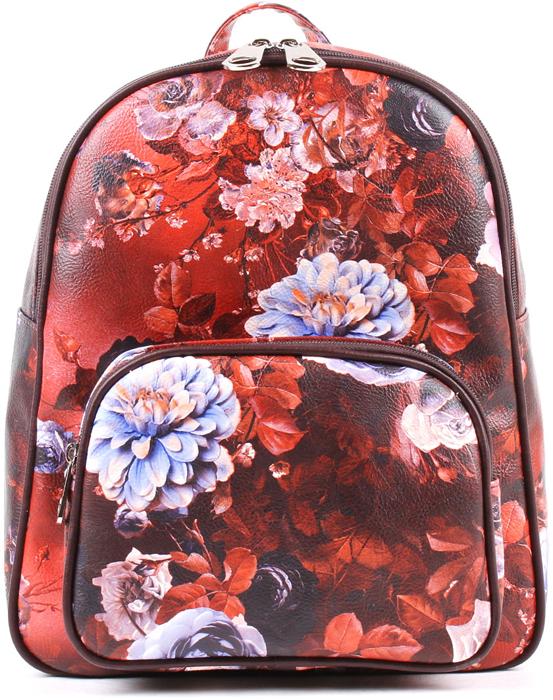 Рюкзак женский Медведково, цвет: бордовый. 18с3001-к14