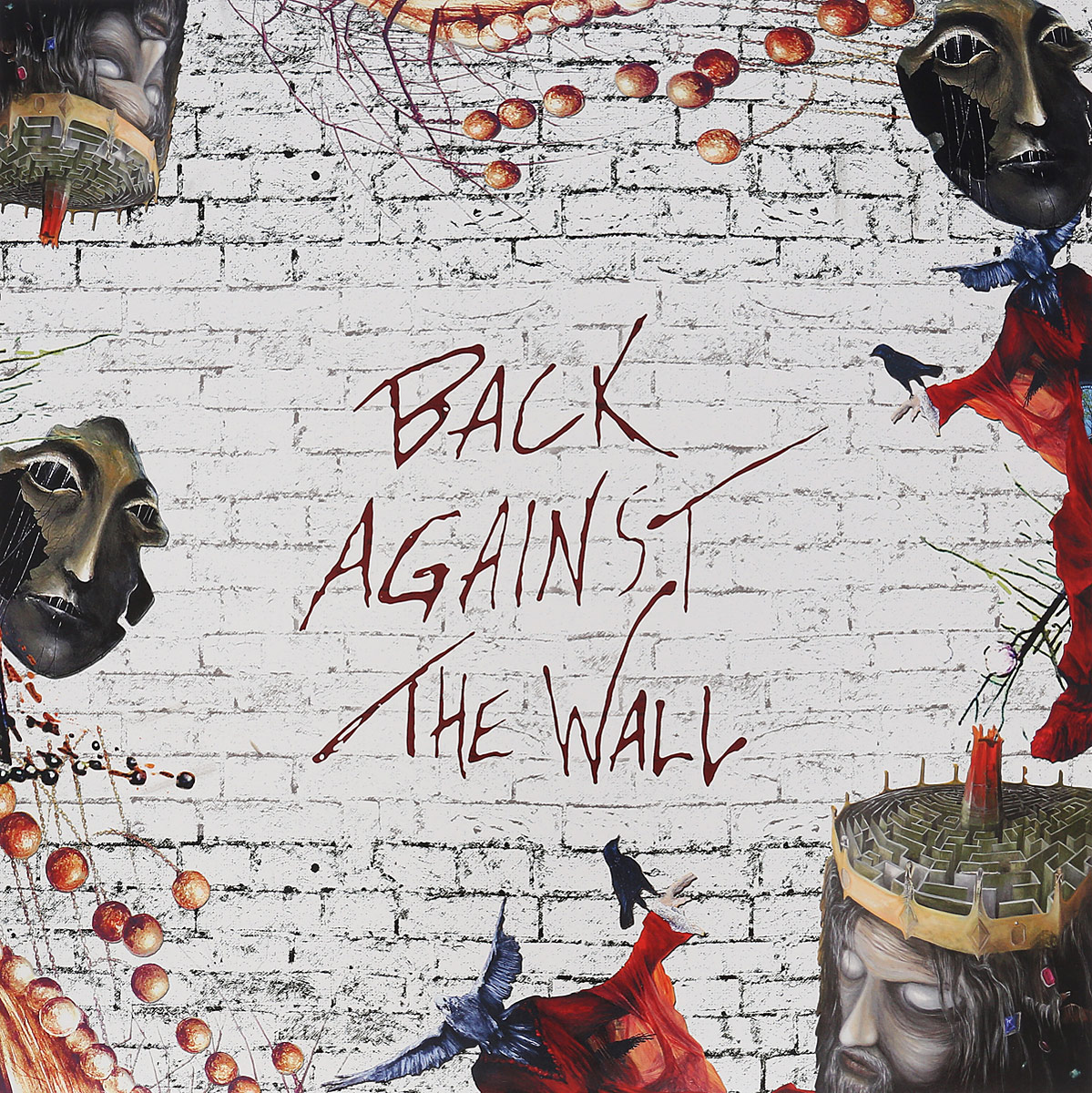 Back Against The Wall. A Tribute To Pink Floyd (2 LP) alfa matrix re covered vol 2 a tribute to depeche mode 2 cd