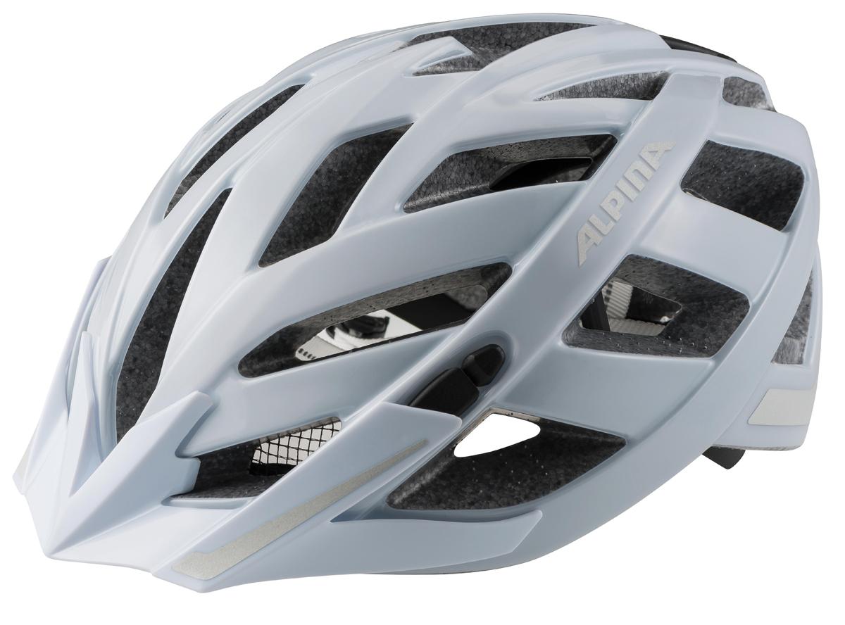 Велошлем Alpina Panoma City, цвет: белый. Размер 52-57 см