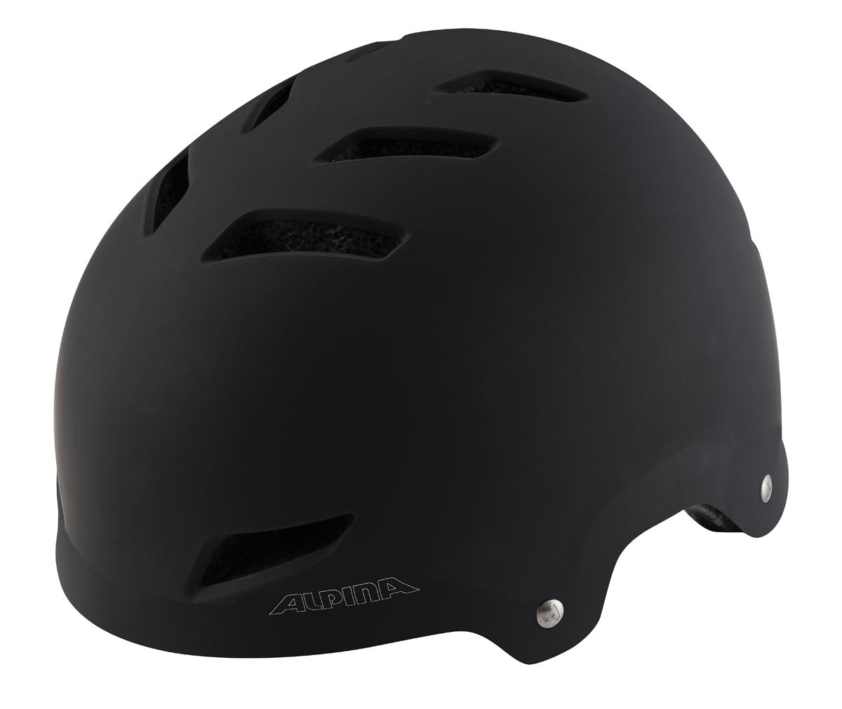 Велошлем Alpina Alpina Park jr., цвет: черный. Размер 51-55 см