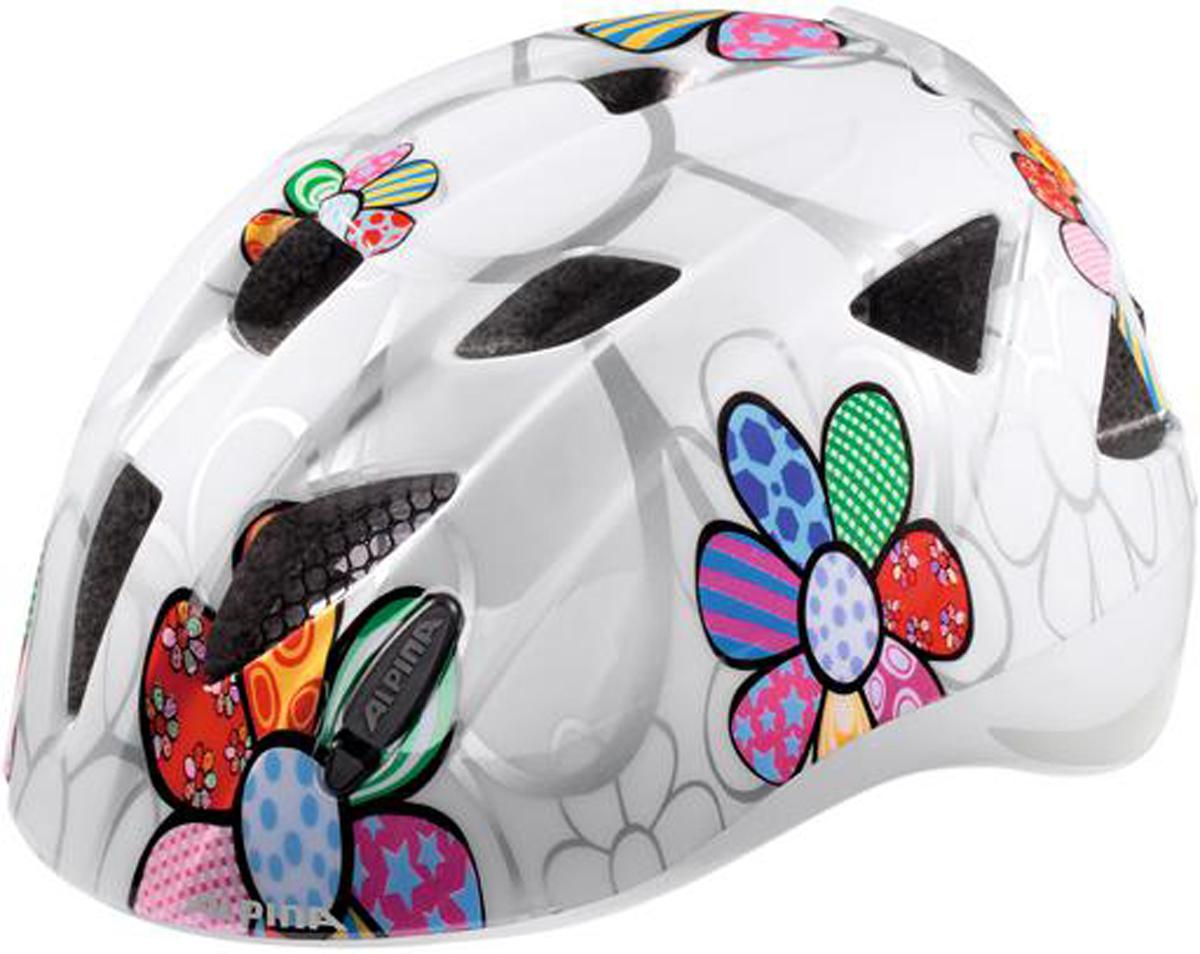 Велошлем Alpina Ximo, цвет: белый. Размер 49-54 см