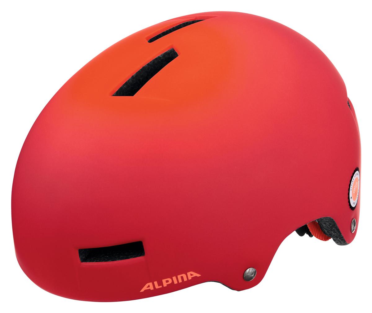Велошлем Alpina Airtime, цвет: красный. Размер 52-57 см сорочка женская primavelle m l susanna