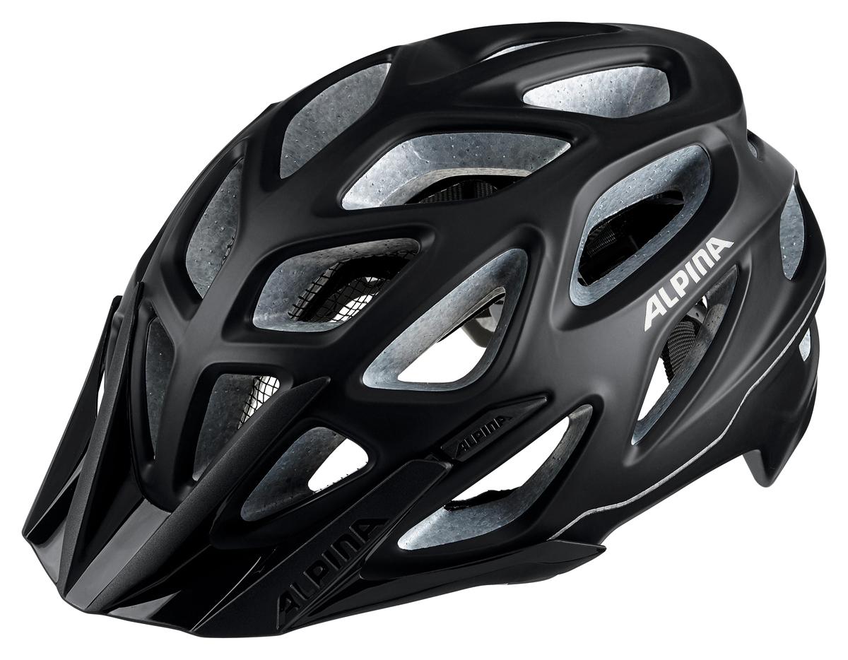 Велошлем Alpina Mythos 3.0 LE, цвет: черный. Размер 52-57 см