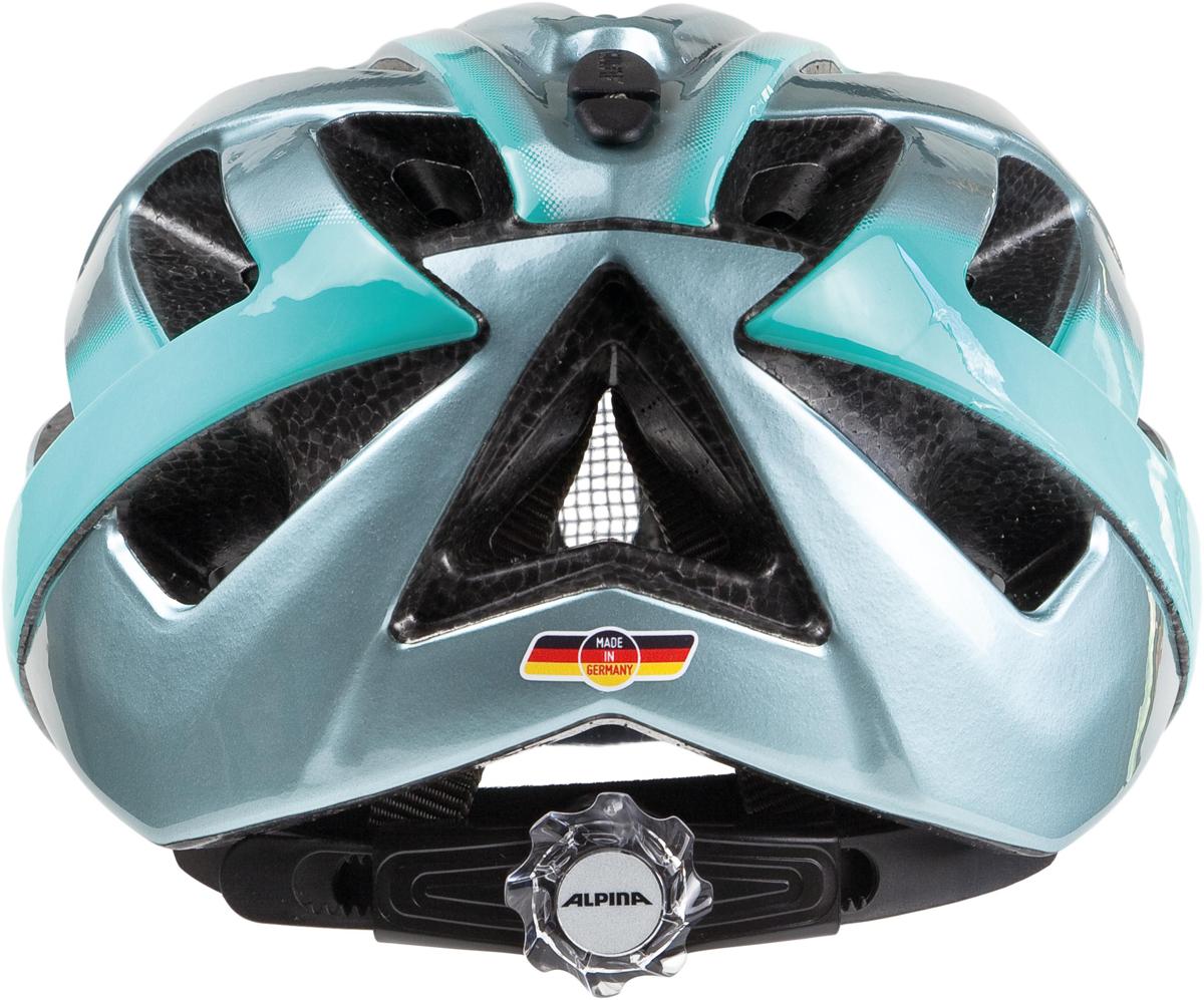 Велошлем Alpina Panoma, цвет: серый. Размер 52-57 см