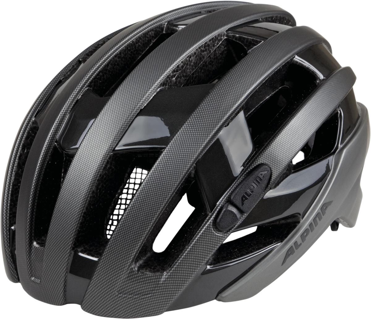 Велошлем Alpina Campiglio, цвет: темно-серый. Размер 51-56 см